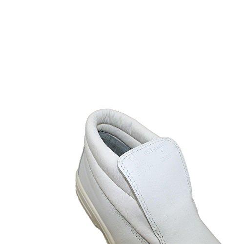 Jal group chaussures de sécurité norme s1 berufsschuhe businessschuhe hauteur 00823 chaussures blanc Blanc - Blanc