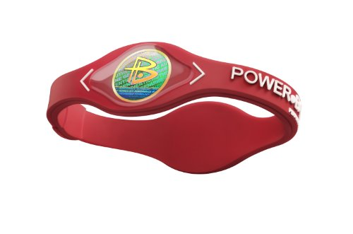 Power Balance / GWSA09BK00WTLP Bracelet silicone Rouge Blanc