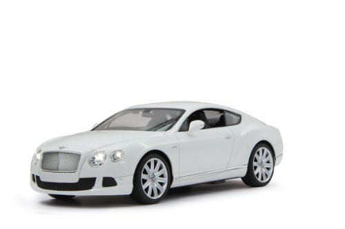 Jamara 404511 - Bentley Continental GT speed Veicolo, Scala 1:14, Bianco