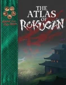 Legend of the Five Rings The Atlas of Rokugan