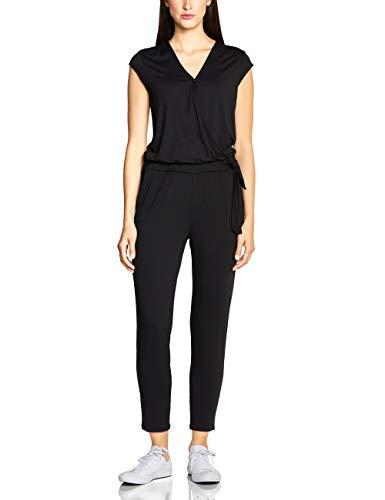 cb625f3a73aa83 Street One Damen 372277 Jumpsuit, Schwarz (Black 10001), Herstellergröße:40