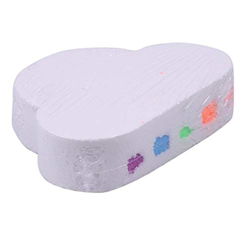 DioLm Bubble Cloud Badesalzball Bubble Peeling Feuchtigkeitsspendende Hautpflege Dusche Duft Reinigungswerkzeug -