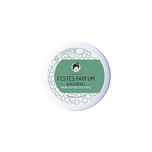 PonyHütchen Naturkosmetik festes Parfüm Waldnebel - herb-männlicher Duft - 12 ml - handgemacht - vegan - BIO (Pacifica Solid Perfume)