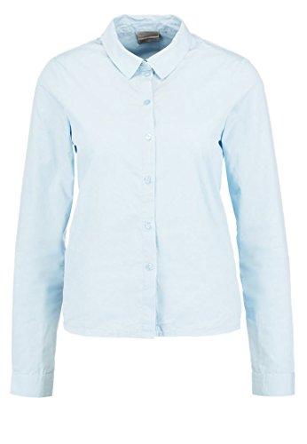 VERO MODA VMFRAYA FLOUNCE - Hemdbluse Hemd Bluse - cashmere blue GR. S