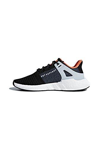 adidas EQT Support 93/17, Scarpe da Ginnastica Basse Uomo Nero (Core Black/footwear White 0)