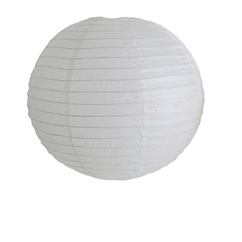 3 paper lamp shades amazon decorations for party wedding birthday paper ball lampshade 40 cm white pack of 3 mozeypictures Choice Image