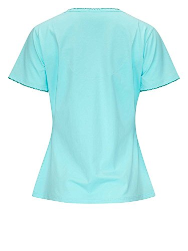 BeeHappy by RÖSCH Femmes Chemise de nuit Turquoise
