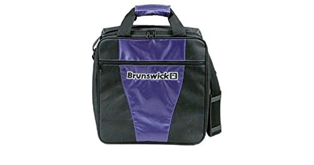 Bowlingtasche Brunswick 1-Ball Tasche GEAR II, Farbe:Lila