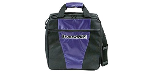 Bowlingtasche Brunswick 1-Ball Tasche GEAR II, Farbe:Lila (Bowling Ball Taschen)