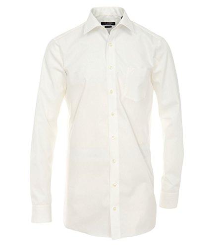 Michaelax-Fashion-Trade -  Camicia classiche  - Basic - Classico  - Maniche lunghe  - Uomo Creme (002)