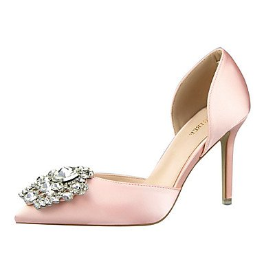 Moda Donna Sandali Sexy donna estate tacchi tacchi Casual di seta Stiletto Heel altri nero / verde / rosa / rosso / grigio / Oro Altri Pink