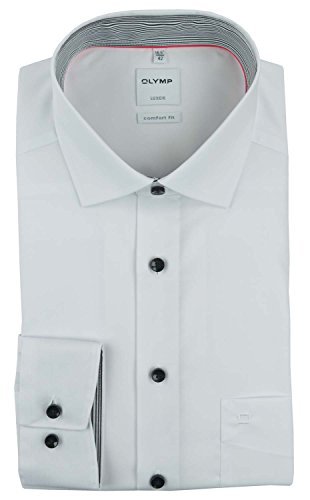Olymp Herren Hemd Weiß