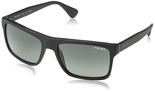 Prada homme 0Pr01Ss Sl32D0 57 Montures de lunettes, Noir (Brushed Matte  Black Lightgreygradientdarkgrey 19e7f7c6e5cb