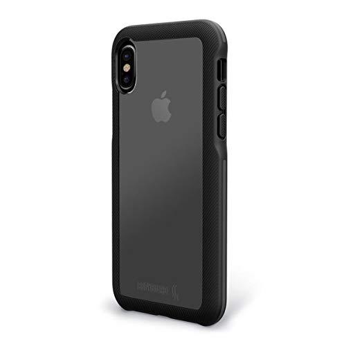 BODYGUARDZ Schutzhülle Apple iPhone X Ungleiche Trainer Pro Series Case–Schwarz/Grau