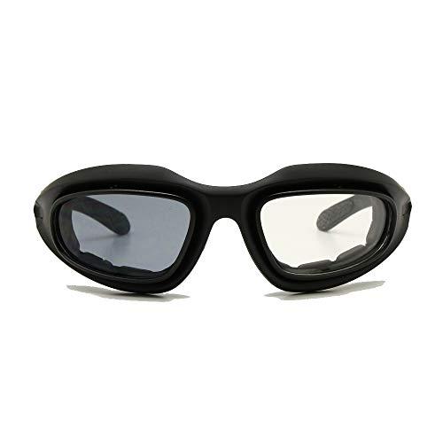 EnzoDate Daisy C5 Armee Brille polarisiert 4 Objektiv-Kit, Outdoor-Sportarten militärische Sonnenbrille Kriegsspiel Motorrad Fahrrad für Männer (Übergang polarisiert)