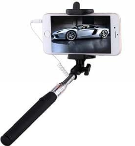 Digitek Premium Selfie Stick 3.5 mm Aux Cable Take Pole handheld For Spice XLife 511 Pro .