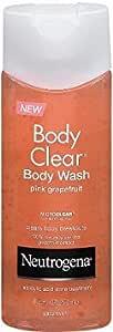 Neutrogena Body Clear Body Wash, Pink Grapefruit, 8.5 Ounce