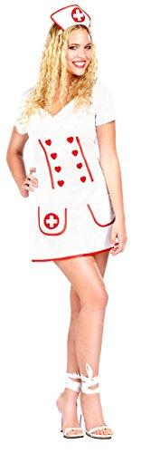 infactory Sexy Halloween Kostüme: Kostüm Krankenschwester Gr. L (Faschings Kostueme)