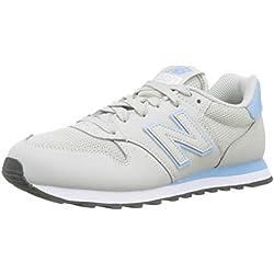 New Balance Gw500v1, Zapatillas de Deporte para Mujer, Gris (Light Cliff Grey/Pink Mist Scp), 38 EU