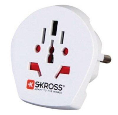 Kopp 473201025 Skross World to Schuko Adapter