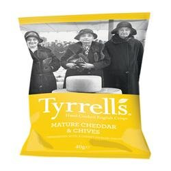 Tyrrells Chips Cheddar Cheese & Chive