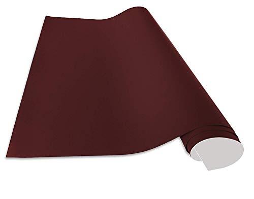 Cuadros Lifestyle Selbstklebende und magnetische Vinyl- Tafelfolie, Farbe:Rot, Größe:150x100 cm