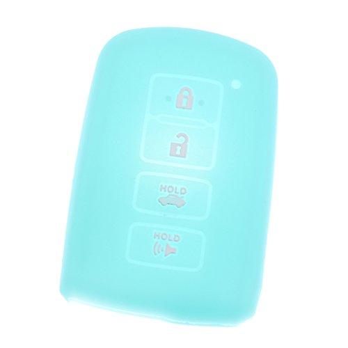 IPOTCH 1 Stk. Meisten Autos Fernbedienung Schlüssel Schutzhülle Schutz Gehäuse - Leuchtendes Blau
