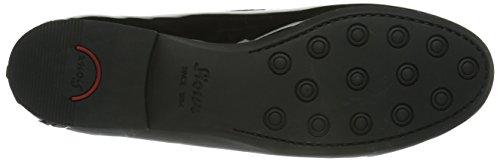 Sioux Loja, Mocassins (loafers) Femme Noir (Schwarz)