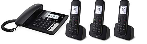 Telekom Sinus PA207 Plus 3, analoges Telefon-Set