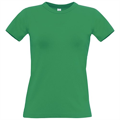 Women's Crew Neck T shirt - Available in 21 Different Colours Pixel Lime