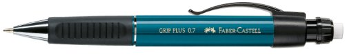 Faber-Castell 130735 - Druckbleistift Grip Plus, Minenstärke: 0.7 mm, petrol