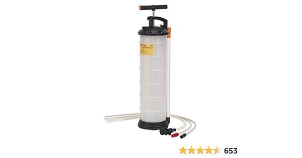 Sealey Vacuum Oil Fluid Extractor Manuelle 6 5ltr Baumarkt