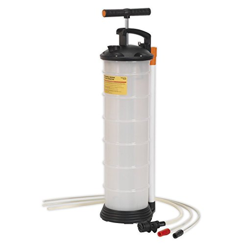 SEALEY Vacuum Oil & Fluid Extractor Manuelle 6.5ltr