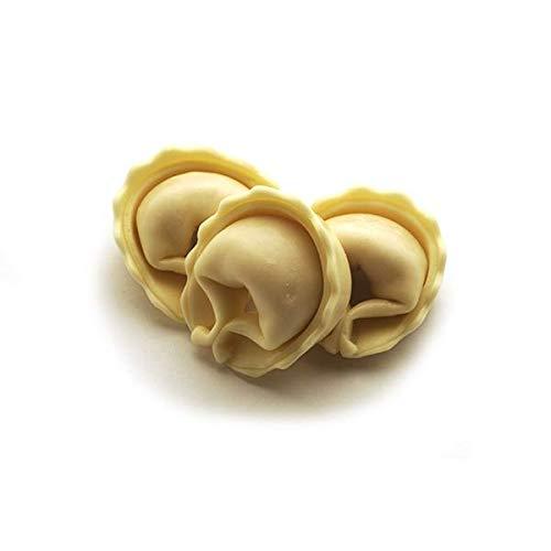 Cappelletti con queso y sal dulce de Cervia