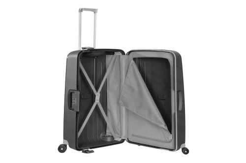 Samsonite S'Cure Spinner 75/28 Koffer, 75cm, 102 L, Black - 3