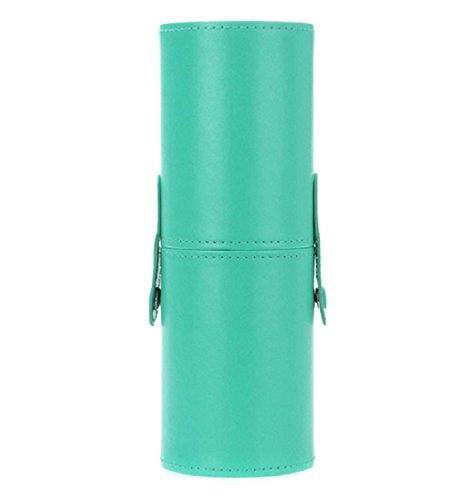 Ularma Unité centrale livre maquillage pinceaux titulaire brosse cosmétiques porte-conteneurs cylindre,vert