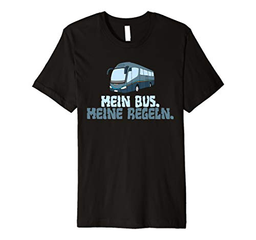 ln T-Shirt für jeder Busfahrer ()