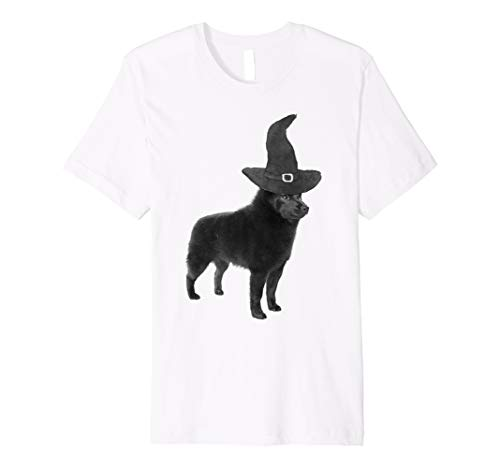 (Halloween Schipperke Hunde-T-Shirt | Funny Halloween Shirt)