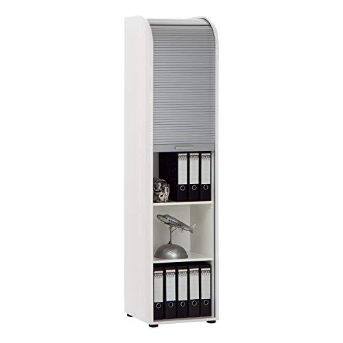 FMD 292-033 Jalousieschrank Profi 33 B/H/T ca. 45.5 x 190.0 x 39.0 cm, weiß