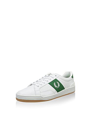 Fred Perry Sturgess Leather Sports Aut White Wei