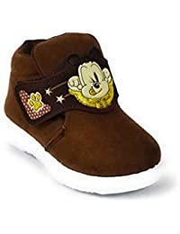 Coolz Kids Chu-Chu Sound Musical First Walking Shoes Bob Dog for Baby Boys and Baby Girls for 9-24 Months