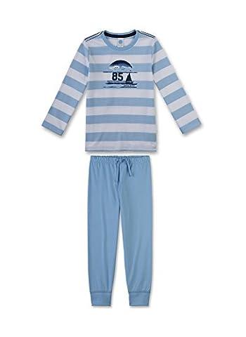 Sanetta Jungen Zweiteiliger Schlafanzug 231942 Blau (Blue Bell 50021), 140