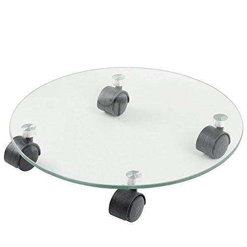 FLORA GUARD Pflanzenroller Glas-Multiroller, Durchmessser 35CM (Glas)