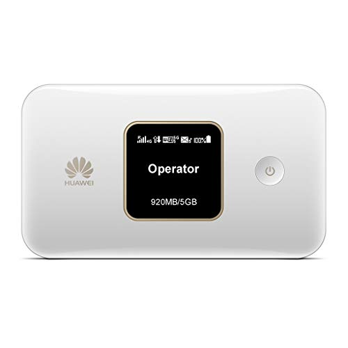 Huawei E5785-4G/ 300Mbps Travel Mobile Wi-Fi Hotspot with Long-lasting  3000mAh Battery- (Genuine UK Warranty Stock)- White