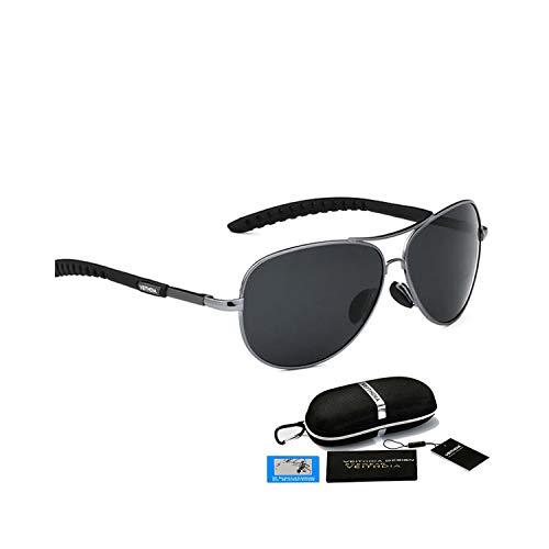 Sportbrillen, Angeln Golfbrille,Brand Polarisiert Sunglasses Men's Driving Sun Glasses UV400 Male Accessories Eyewear Oculos De Sol Masculin For Men 3088 gray PB