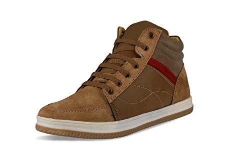 Bacca Bucci Men Tan Synthetic Casual Shoes 9 Uk