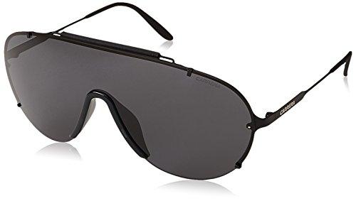 Carrera 129/s p9 003, occhiali da sole uomo, nero (matt black/grey), 99