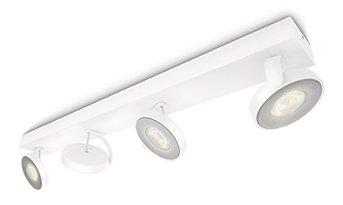 Focos Led De Superficie Philips Myliving Clockwork 4 Focos Blanco Calido