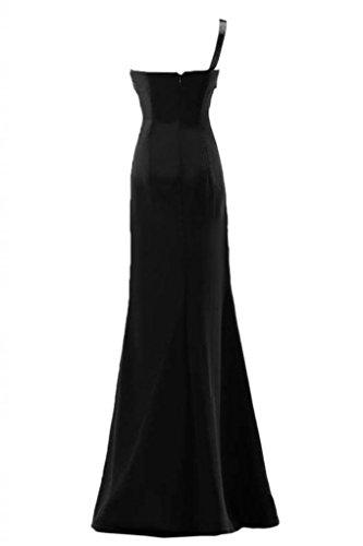 Sunvary una elegante spalla abito da sera, da donna, per abiti da sera-Gowns Pageant Nero
