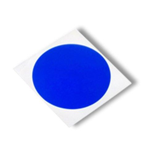 """TapeCase da 8901 CIRCLE-0,32 cm (0,125"""")-2000 blu poliestere/Silicone, nastro adesivo convertiti da 3 m, da 8901, cerchi, 400 °F , 0,32 (0,125 cm lunghezza, larghezza (0,125 0,32 cm (Confezione da 2000)"""